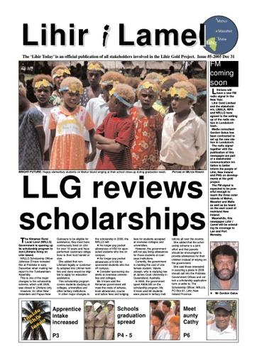 5 December Issue 2005
