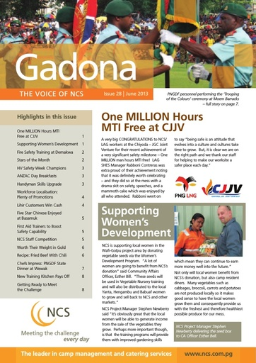 NCS Gadona   The Voice Newsletter June 2013