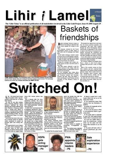 1 August Issue 2005