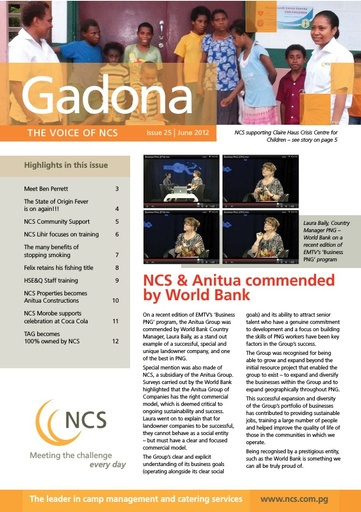 NCS Gadona   The Voice Newsletter June 2012